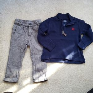 2 pc preppy outfit